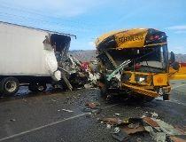 Washington state school bus crash
