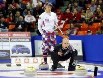 Curling pants