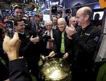 GoDaddy CEO Blake Irving at IPO