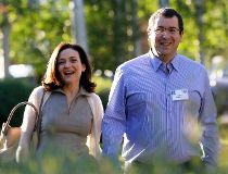 David Goldberg and Sheryl Sandberg