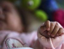 newborn baby's hand baby filer