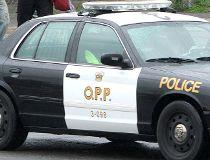 OPP Ontario Provincial Police Cruiser