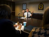 Edmonton Police Service Chief Rod Knecht