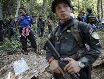 Malaysia mass grave