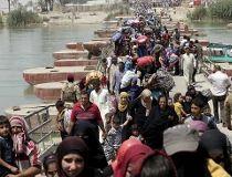 Displaced Sunni people