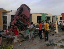 Tornado hits Ciudad Acuna