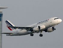 Air France flight take-off