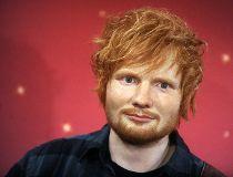 Ed Sheeran unveils his wax figure at Madame Tussauds