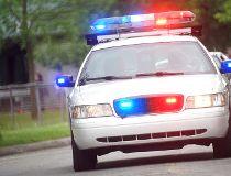 police flashing lights filer