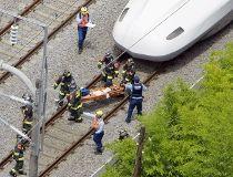 bullet train fire