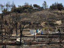 Washington wildfire destroyed homes