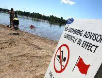 Ottawa public beaches closed - no swimming