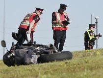 Motorcycle crash July 30