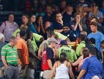 Turner Field fan falls