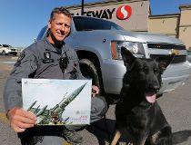 Calgary police K9 unit calendar