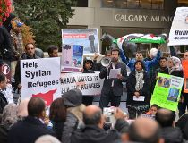 Calgary Syria refugee rally