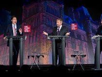 Globe and Mail  leaders' debate