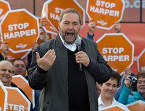 Federal NDP party leader Tom Mulcair