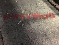 CBC Calgary's #whywhyc 'graffiti'