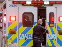 Calgary EMS ambulance