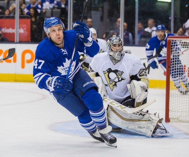 Leo Komarov doing it all for Maple Leafs