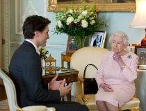 Justin Trudeau Queen