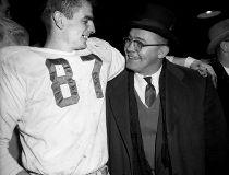1956 Grey Cup. Edmonton Eskimos Quarterback Don Getty