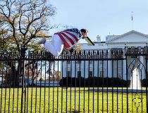 White House fence jumper
