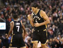 Toronto Raptors forward Luis Scola