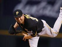 Pittsburgh Pirates starting pitcher J.A. Happ