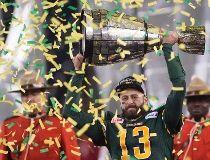 Edmonton Eskimos' quarterback Mike Reilly