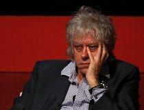 Singer Bob Geldof