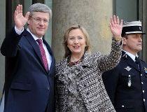 Hillary Clinton, Stephen Harper