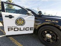 Calgary Police Car