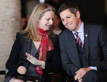 Maria Mitousis and Brian Bowman