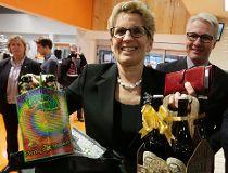 Kathleen Wynne beer