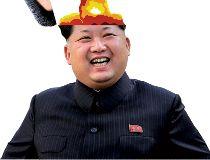 Kim Jong Un bomb head