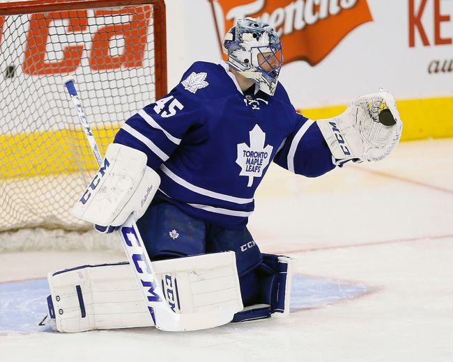 Leafs' Bernier gets start vs. Tampa Bay Lightning