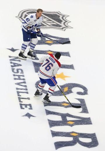 Maple Leafs' Komarov loving ASG experience