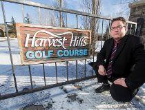 Harvest Hills resident Stuart Cantrill
