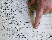 Napoleon Bonaparte signature