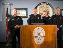 Austin police Chief of Staff Brian Manley