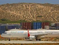 Daallo Airlines plane