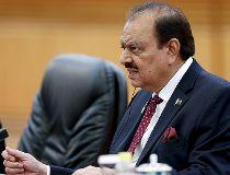 Pakistan's President Mamnoon Hussain