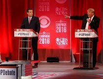Donald Trump, Jeb Bush, Ted Cruz