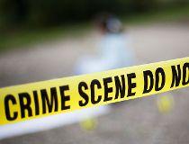 Crime scene tape - police tape