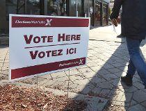 polling station vote ballot