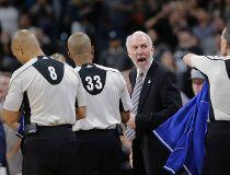 San Antonio Spurs Gregg Popovich, nba