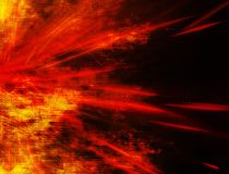 Exploding solar flare