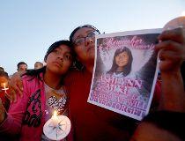 Vigil for Ashlynne Mike
